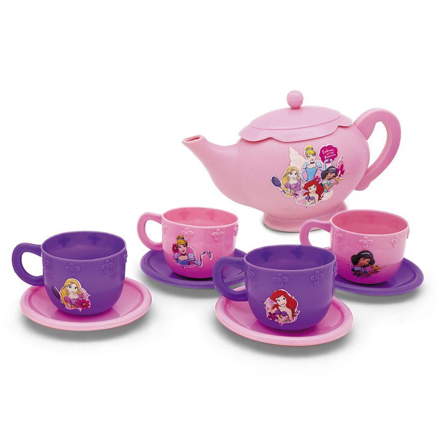 Acessorios-de-Casinha---Jogo-de-Cha-com-Acessorios---Disney---Princesas---Toyng