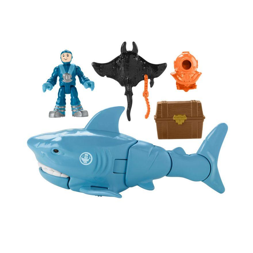 figura-e-veiculo-19cm-imaginext-tubarao-e-mergulhador-fisher-price-GKG79-GKG78_Frente
