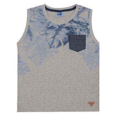 Camiseta-Regata---Estampa-Folhas---Algodao-e-Poliester---Mescla---Duduka---4