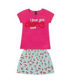 Conjunto-Infantil---Camisa-Cherry-e-Saia---Algodao-e-Elastano---Rosa---Duduka---8