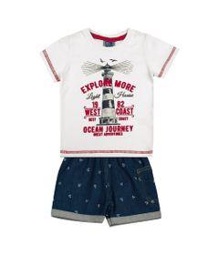 Conjunto-Infantil---Camisa-Explore-e-Bermuda-Jeans---Algodao-e-Elastano---Branco---Duduka---1