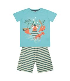 Conjunto-Infantil---Camisa-Manga-Curta-Lagosta-e-Bermuda---Algodao-e-Poliester---Azul---Duduka---1