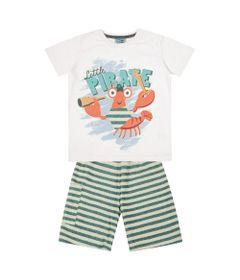 Conjunto-Infantil---Camisa-Manga-Curta-Lagosta-e-Bermuda---Algodao-e-Poliester---Branco---Duduka---1