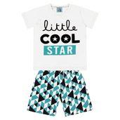 Conjunto-Infantil---Camisa-Manga-Curta-Stars-e-Bermuda---Algodao-e-Poliester---Branco---Duduka---1