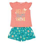 Conjunto-Infantil---Camisa-Manga-Curta-Sunshine-e-Bermuda---100--Algodao---Coral---Duduka---1