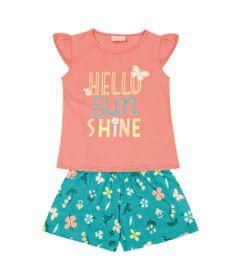 Conjunto-Infantil---Camisa-Manga-Curta-Sunshine-e-Bermuda---100--Algodao---Coral---Duduka---2