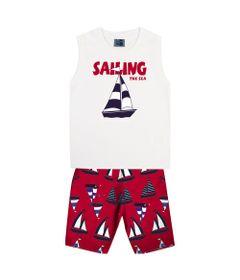 Conjunto-Infantil---Camiseta-Regata-Barco-e-Bermuda---Algodao-e-Poliester---Branco---Duduka---2