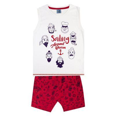 Conjunto-Infantil---Camiseta-Regata-Piratas-e-Bermuda---100--Algodao---Branco---Duduka---4