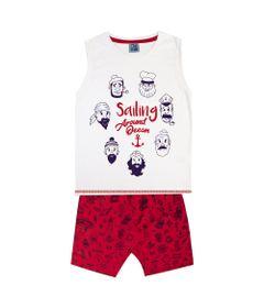 Conjunto-Infantil---Camiseta-Regata-Piratas-e-Bermuda---100--Algodao---Branco---Duduka---6
