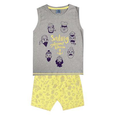 Conjunto-Infantil---Camiseta-Regata-Piratas-e-Bermuda---Algodao-e-Poliester---Mescla---Duduka---4