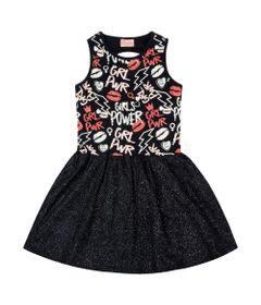Vestido-Infantil---Top-Estampado---Girl-Power---Algodao-e-Elastano---Preto---Duduka---8