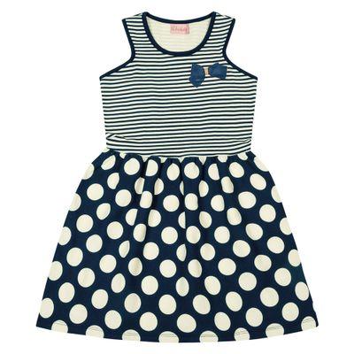 Vestido-Infantil---Top-Listrado---Algodao-e-Elastano---Marinho---Duduka---4
