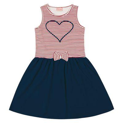 Vestido-Infantil---Top-Listrado-Coracao---Algodao-e-Elastano---Marinho---Duduka---4