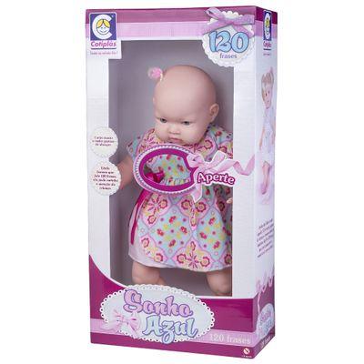 Boneca-Bebe---Sonho-Azul---120-Frases---Vestido-de-Azul-com-Rosa---Cotiplas_Frente