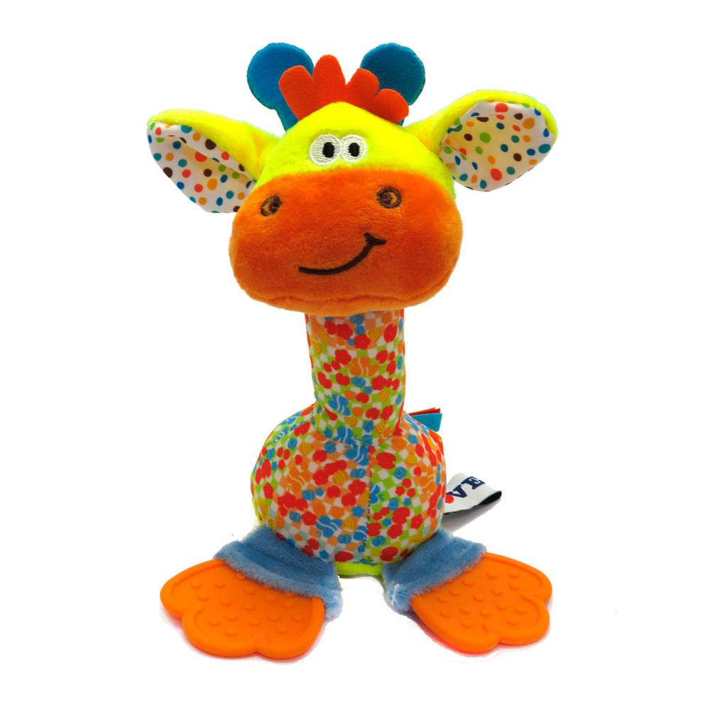 Chocalho e Mordedor de Pelúcia - Girafa - Love