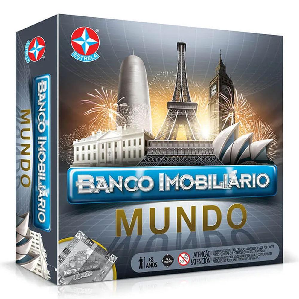Jogo - Banco Imobiliário - Mundo - Estrela