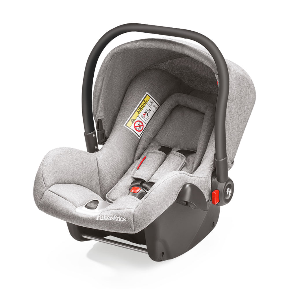 Bebê Conforto - De 0 a 13 Kg - Heritage Fix - Cinza - Fisher-Price