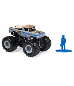 Mini-Veiculo-e-Figura---1-64---Monster-Jam---Big-Kahuha---Sunny