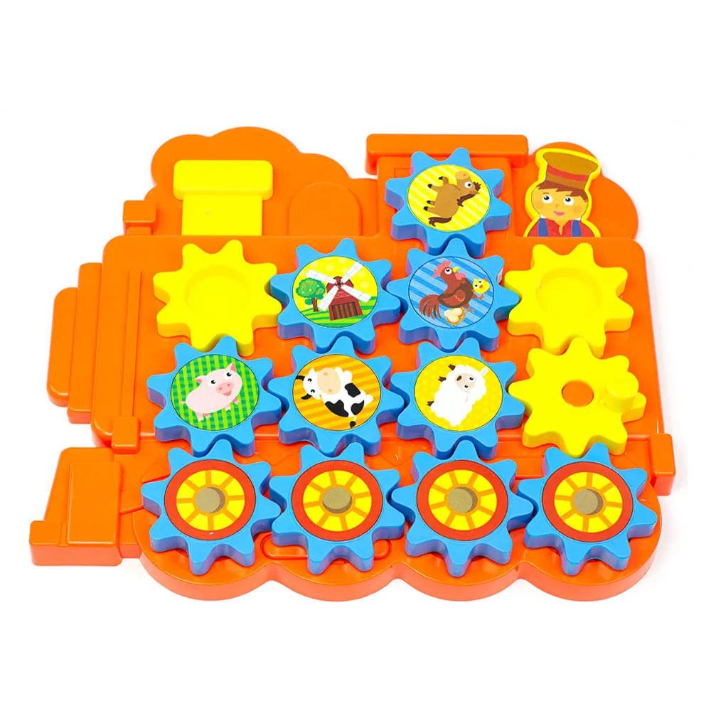 Brinquedo de Atividades - Gira-Trem - Estrela Baby