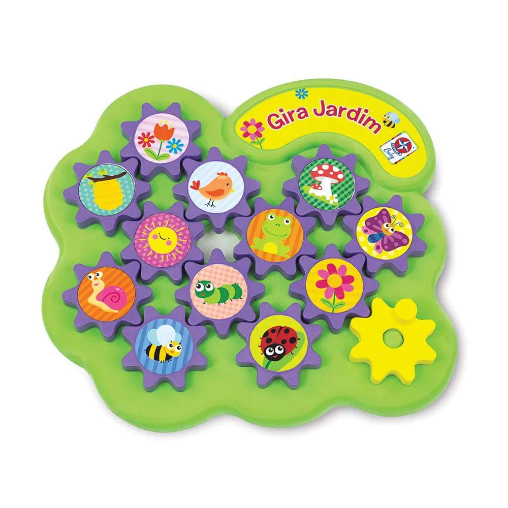 Brinquedo de Atividades - Gira-Jardim - Estrela Baby