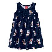Vestido-Infantil---Meia-Malha---Unicornio---Azul-Marinho---Kyly---1