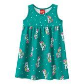 Vestido-Infantil---Meia-Malha---Unicornio---Verde---Kyly---1