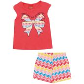 Conjunto-Infantil---Blusa-e-Short---Meia-Malha---Laco---Vermelho---Kyly---1