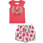 Conjunto-Infantil---Blusa-e-Short---Meia-Malha---Picole---Vermelho---Kyly---1