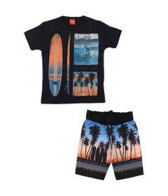 Conjunto-Infantil---Camiseta-e-Bermuda---100-Algodao---Prancha-E-Surfista---Azul-Marinho---Kyly---4