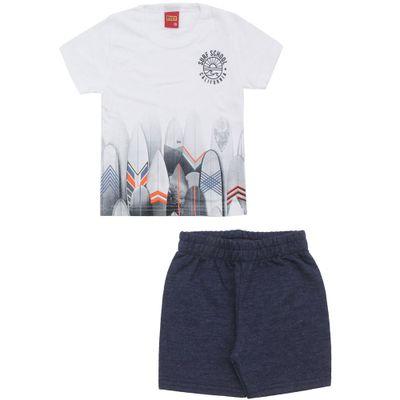Conjunto-Infantil---Camiseta-e-Bermuda---100-Algodao---Pranchas-Surf---Branco---Kyly---1