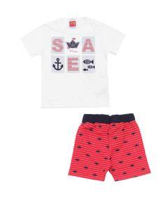 Conjunto-Infantil---Camiseta-e-Bermuda---100-Algodao---Sea---Branco---Kyly---1