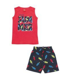 Conjunto-Infantil---Regata-e-Bermuda---100-Algodao---Summer---Vermelho---Kyly---3