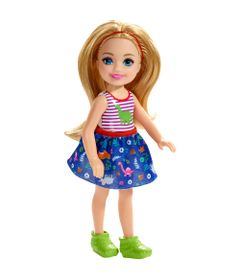 Mini-Boneca---Familia-da-Barbie---Chelsea-Club---Loira---Blusa-Dinossauro---Mattel