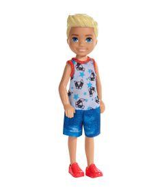 Mini-Boneca---Familia-da-Barbie---Chelsea-Club---Loiro---Regata-Cachorro---Mattel