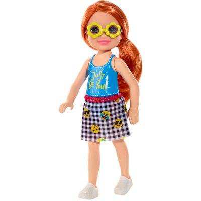 Mini-Boneca---Familia-da-Barbie---Chelsea-Club---Ruiva---Just-Be-You---Mattel