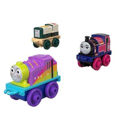 Mini-Veiculos---Thomas-e-Friends---Minis---Sushi-Diesel-Ashima-e-Rainbow-Rosie---Fisher-Price