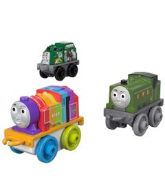 Mini-Veiculos---Thomas-e-Friends---Minis---Trash-Rainbow-Belle-e-Duck---Fisher-Price