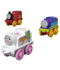 Mini-Veiculos---Thomas-e-Friends---Minis---Victor-Rainbow-e-Thomas---Fisher-Price