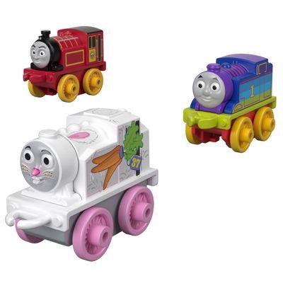 Mini-Veiculos---Thomas-e-Friends---Minis---Victor-Rainbow-e-Thomas---Fisher-Price
