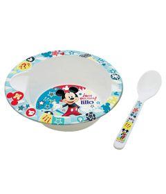 Prato-Fundo-com-Colher---Disney---Mickey-Mouse---Lillo