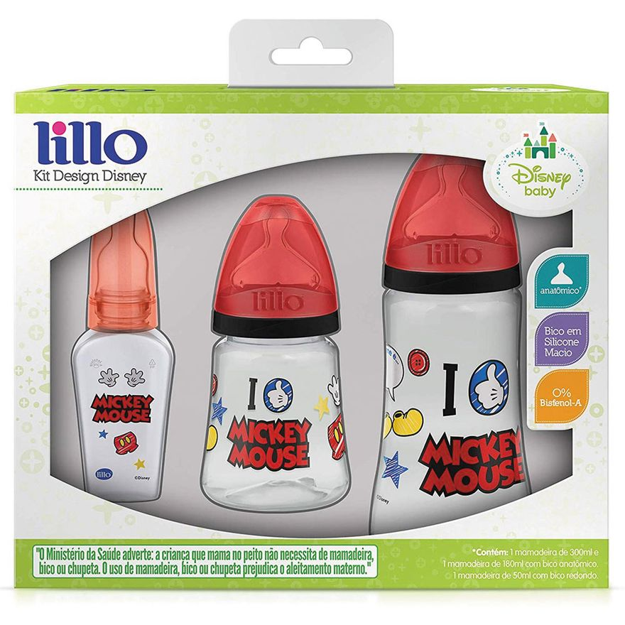 Conjunto-de-Mamadeiras---3-Unidades---Design---Mickey-Mouse---Lillo