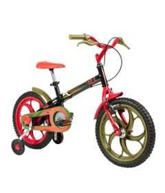 Bicicleta-ARO-16---Power-Rex---Preta---Caloi