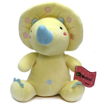 Pelucia-25-Cm---Triceratops-Baby---Metoo---Amarelo---Love