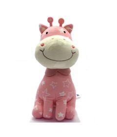 Pelucia-26Cm---Girafa-Feliz---Metoo---Rosa---Love