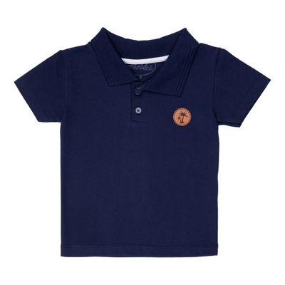 camisa-polo-infantil-piquet-algodao-e-poliester-azul-marinho-minimi-1-00610_Frente