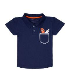 camisa-polo-infantil-piquet-com-bolso-algodao-e-poliester-azul-marinho-minimi-1-00611_Frente
