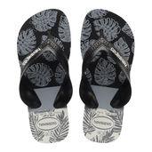 sandalia-havaianas-kids-max-trend-preto-e-branco-havaianas-23-24-4132589_Frente