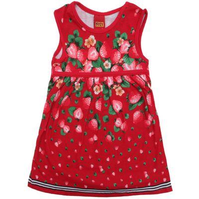 Vestido-Infantil---100-Algodao---Morangos---Vermelho---Kyly---2