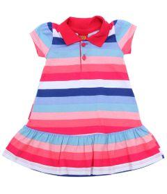 Vestido-Infantil---Meia-Malha---Listras---Rosa---Kyly---2