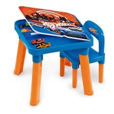 Mesa-Infantil-com-Cadeiras---Hot-Wheels---Barao